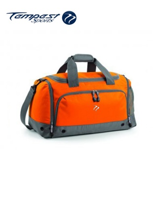 Tempest Sports Orange/Grey Holdall