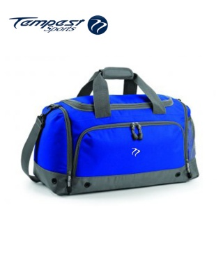 Tempest Sports Royal/Grey Holdall