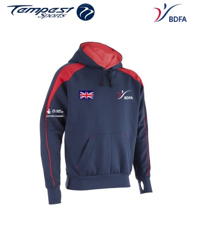 BDFA Competition Navy Red Hoody
