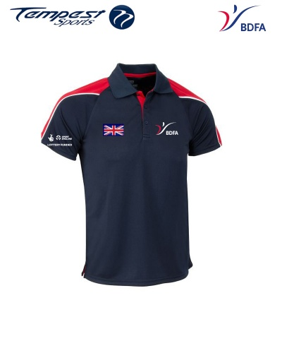 BDFA Mens Competition Polo Shirt