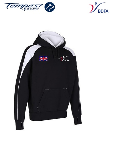 BDFA Support Black White Hoody