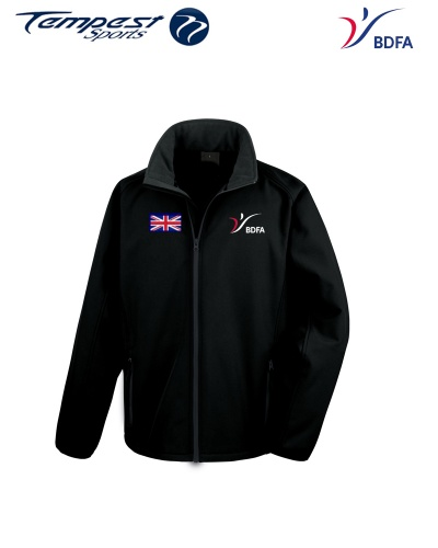 BDFA Support Soft Shell Jacket