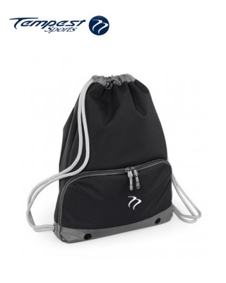 Tempest Sports Black/Grey Gymsac