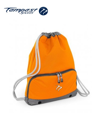 Tempest Sports Orange/Grey Gymsac