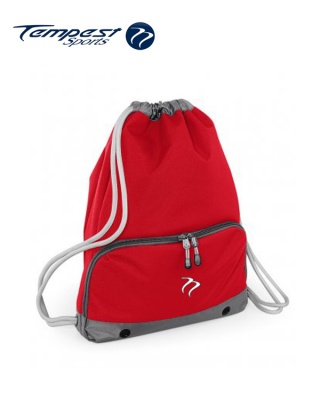 Tempest Sports Red/Grey Gymsac