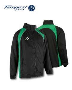 Tempest 'CK' Black Green Splash Jacket