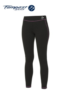Tempest Black Pink Women's Leggings
