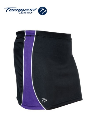 Tempest 'CK' Black Purple Women's Skort