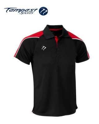 Tempest CK Black Red Playing Shirt