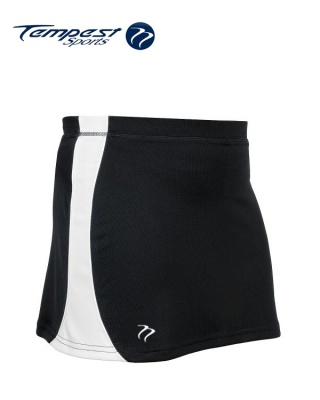 Tempest 'CK' Black White Women's Skort
