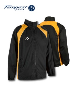 Tempest 'CK' Black Yellow Splash Jacket