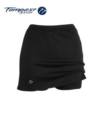 Sets of 10 Tempest Classic Women's Black Lycra Skort