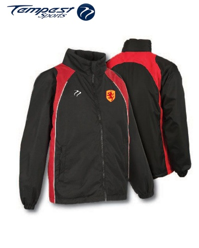 SHC Tempest 'CK' Black Red Splash Jacket