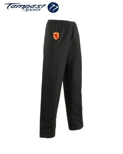 SHC Black Mens Tracksuit Bottoms