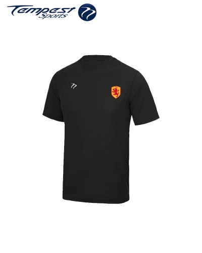 SHC Mens Black Training Shirt
