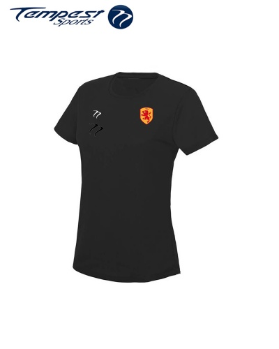 SHC Womens Black Training Shirt