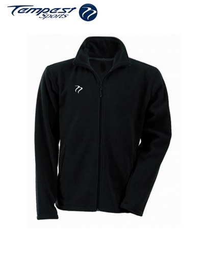 Umpires Black Micro Fleece Top