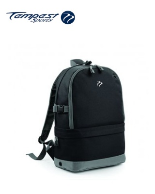 Tempest Sports Black/Grey Backpack