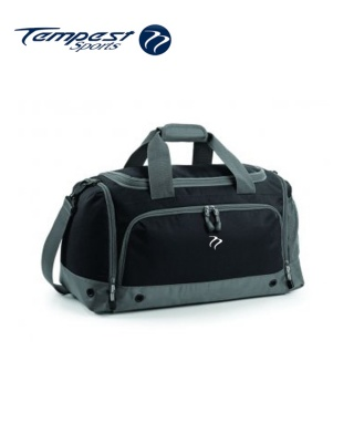 Tempest Sports Black/Grey Holdall