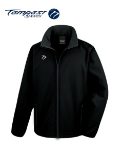 Umpire Black Soft Shell Jacket