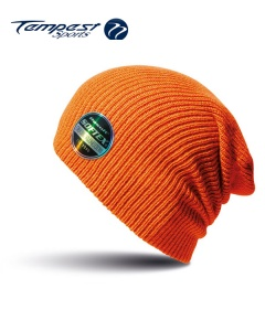 Umpires Orange Beanie Hat