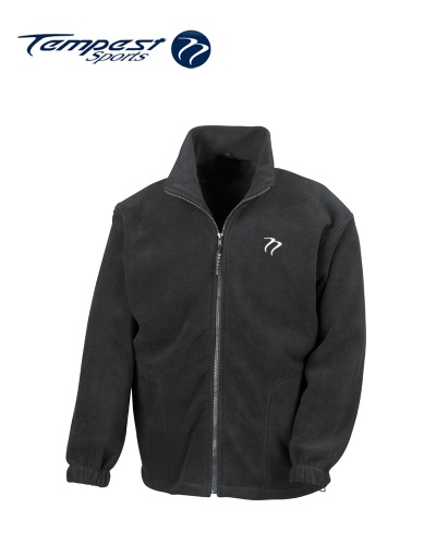 Tempest Heavy Polar Fleece Black