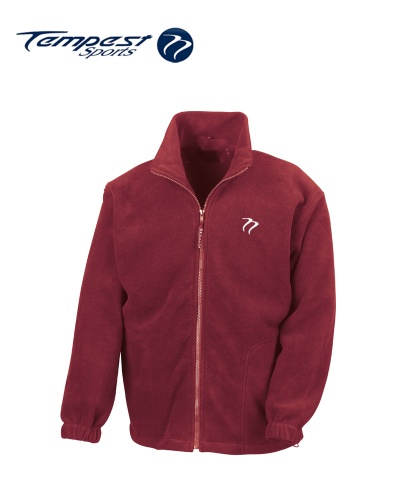 Tempest Heavy Polar Fleece Burgundy