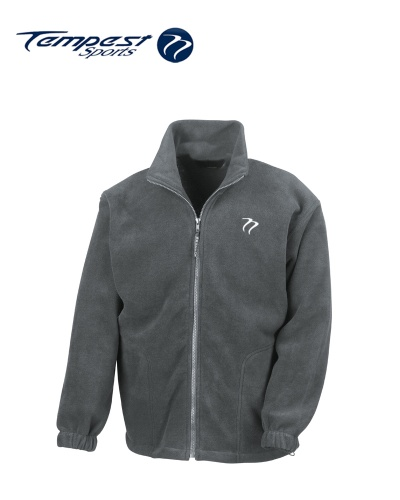 Tempest Heavy Polar Fleece Grey