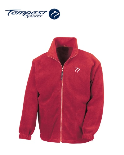 Tempest Heavy Polar Fleece Red