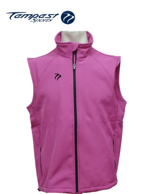 Tempest Pink Soft Shell Gilet