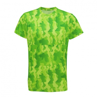 Tempest Tour Green Mens Camo T