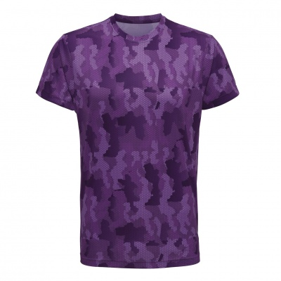 Tempest Tour Purple Mens Camo T