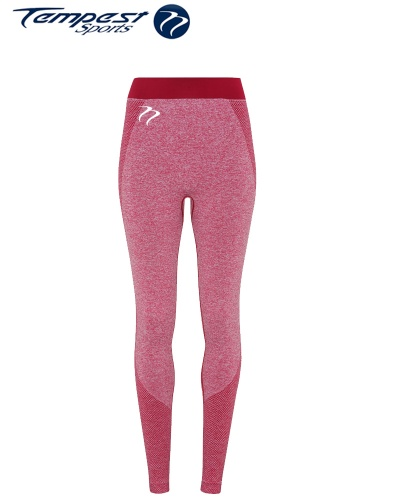 Tempest Women's performance Burgundy Seamless leggings[1]