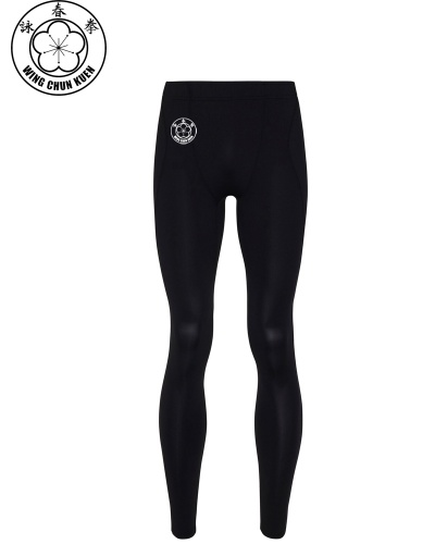 WCKUK Mens Black Leggings