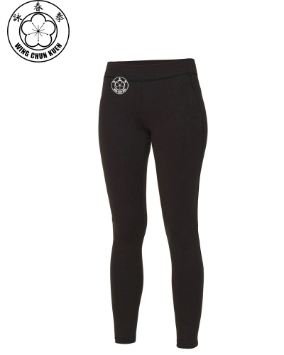 WCKUK Womens Black Leggings