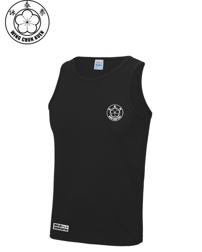 WCKUK Mens Black Training Vest