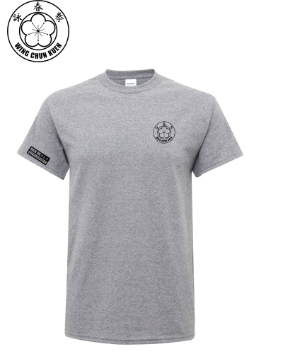 WCKUK Mens Heather Grey Cotton T-Shirt
