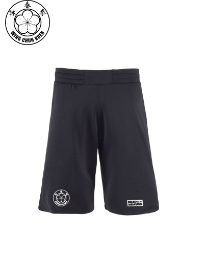 WCKUK Mens Black Combat Shorts