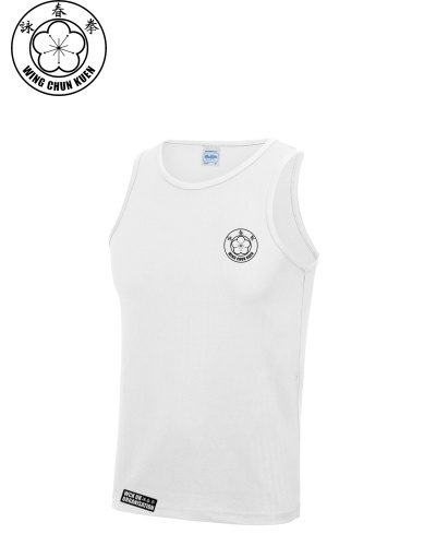 WCKUK Mens White Training Vest