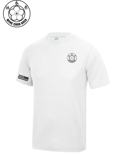 WCKUK Mens White Training Shirt