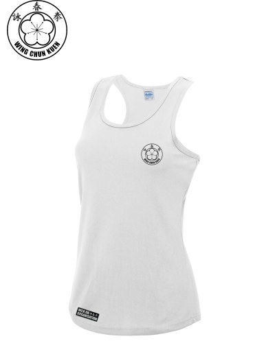 WCKUK Womens White Training Vest