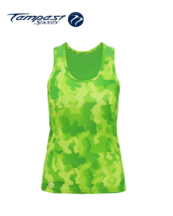 Tempest Tour Green Womens Vest